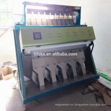 La marca de fábrica superior SKS gran capacidad 6 clasifica la máquina del clasificador del color en China para el arroz de los granos