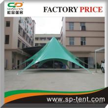 Tente de chapiteau en PVC, tente d'événement extérieur, tente en forme d'étoile