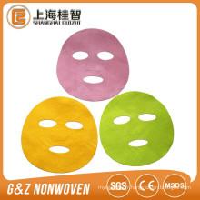 Vente chaude coréen masque facial tissu de base cupra / tencel masque facial feuille