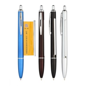 Customized Brand Pull Out Banner Ball Pens