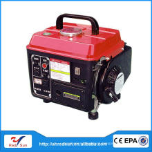 Professional gasoline green power generator 1kva