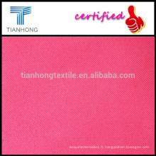 ZheJiang Textile coton Twill tissu/Heavy Weight peigné coton pantalon tissu à armure sergé