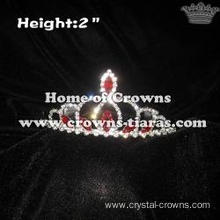 2in Height Mini Red Diamond Crowns