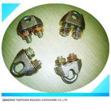 DIN1142 Electro verzinkter Temperguss Drahtseil-Clips