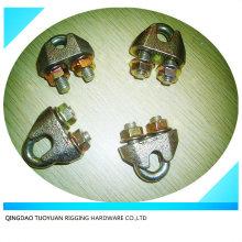 DIN1142 Eletro galvanizado clipes de corda de fio de aço maleável