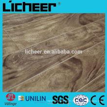 Fabricants de planchers en stratifié en Chine à l'intérieur Revêtements de sol stratifié de petites surfaces gaufrées