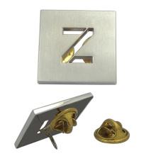 "Custom Silver Hollow ""Z"" Abzeichen"