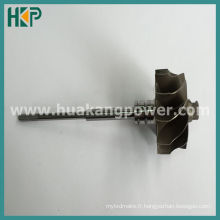 Arbre de turbine pour Td03 49131-06001 Turbocompresseur