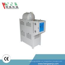 nuevo tipo de aceite Tres rollo de máquina de temperatura del molde 120 kw para la caldera de reacción