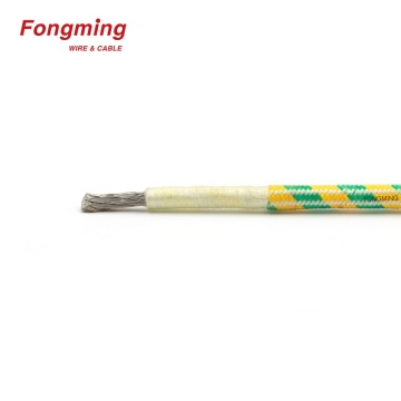 1.5mm 400 Degree Fiberglass Nickel High Temp Wire