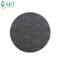 silicon carbide clean fit pipe strips for metal polishing