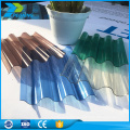 UV-Sonnenlicht Polycarbonat Gewächshaus Siding PC Wabe klar Dachbahnen