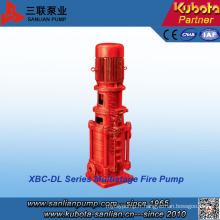 Pompe de lutte contre l'incendie verticale à plusieurs étages de la série Xbd-Dl