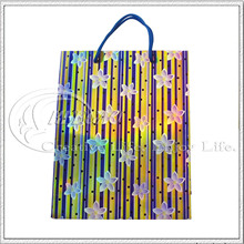 Stripe & Flower Paper Bag (KG-PB020)