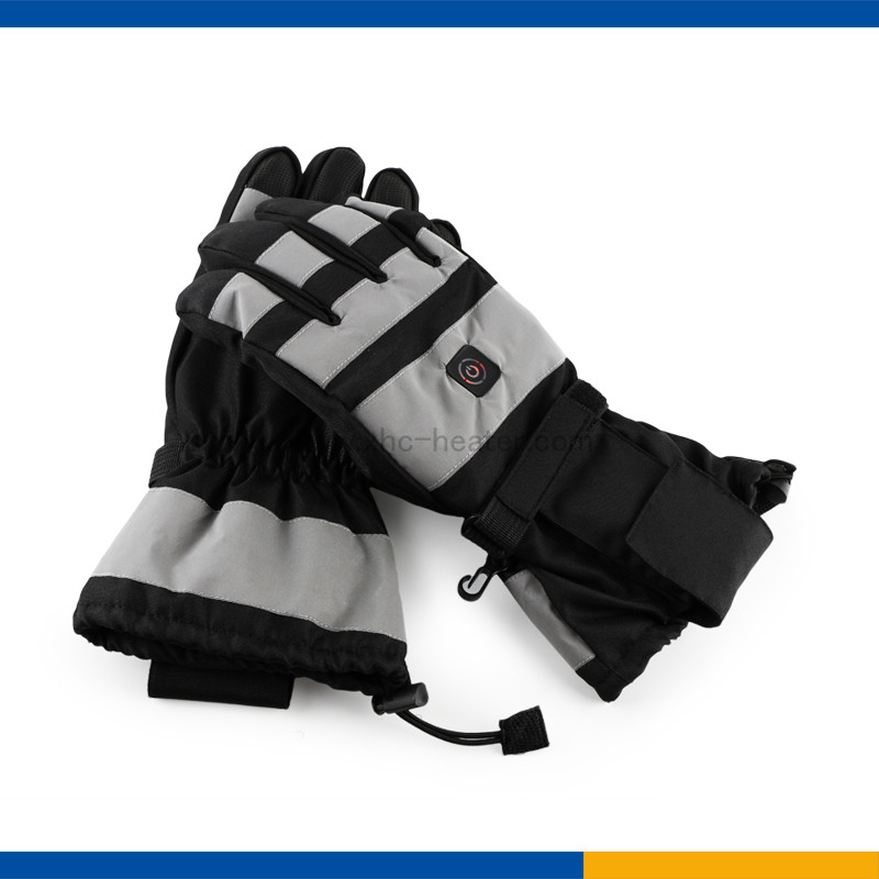 winter used heated gloves