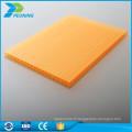 Plaqué ordinaire à prix bon marché plaque en plastique feuille en polycarbonate