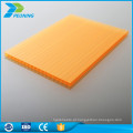 Folha de policarbonato de plástico