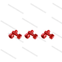 Hot sales button and socket head cap 7075 aluminum bolts and screws