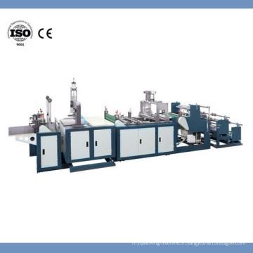 Machine automatique de fabrication de sacs de fermeture à glissière en PVC à haute fréquence