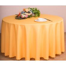 Restaurant oder Hotel verwendet Tischwäsche Polyester Tischdecke