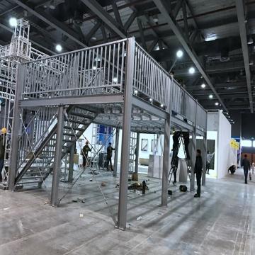 metal steel structure building platform price