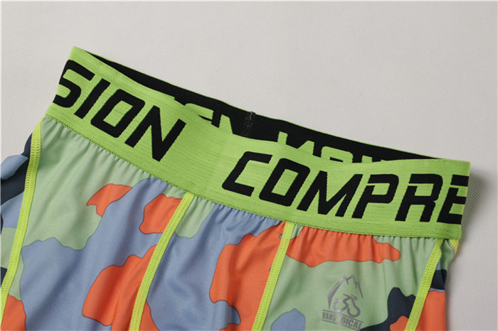 Compression gym shorts