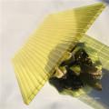 hoja de policarbonato de cristal hueco
