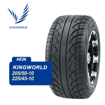 Neumático de goma negro del coche de golf de China