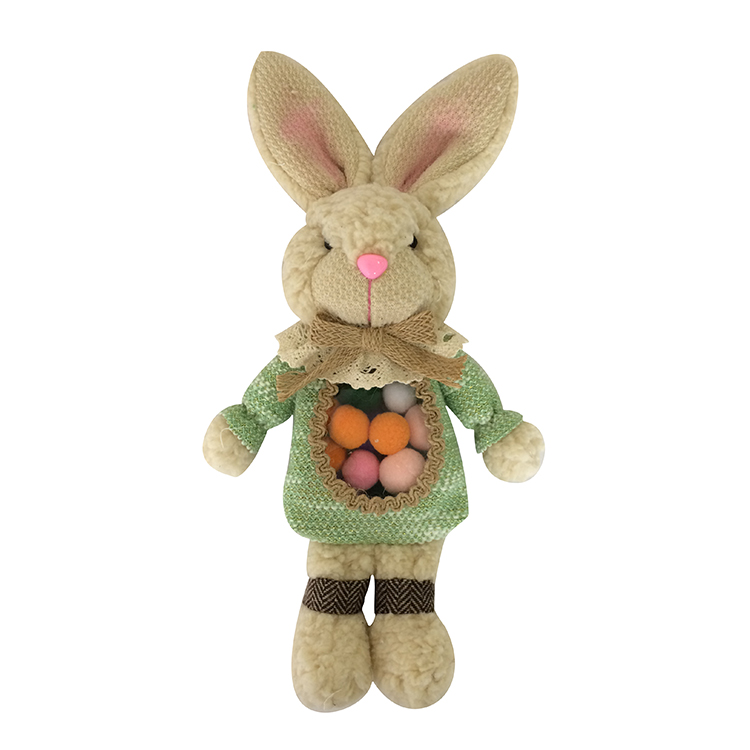Easter Collectible Plush Bunny Doll