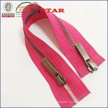 # Zwei Wege Open End Metall Zipper für Kleider