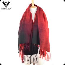 Женщин с изменением цвета акриловые шарф кашемира шарф