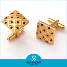 Gold Plated Fashion Cufflink for Shirts (SH-BC0002)