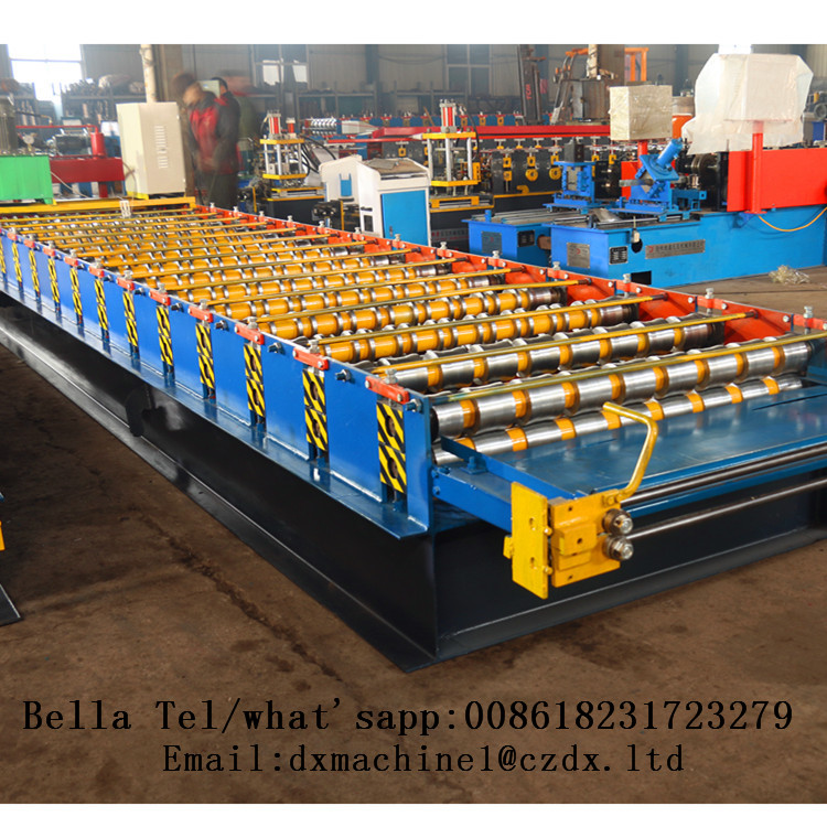 Trapezoidal Roof Panel Roll Cold Forming Machine