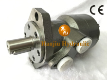Hydraulic orbit motors for sweeper