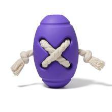 Прочные игрушки из натурального каучука для футбольных собак