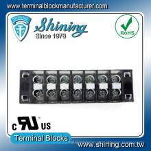 TB-33507CP Conector de terminal de barreira fixa de 35 A com montagem em superfície de 35 A
