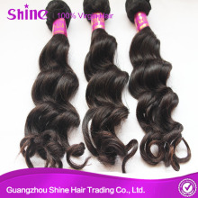 100% Human Virgin Brazilian Loose Wave Hair Extension