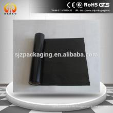 Polyesterfolie schwarze Farbe 0,125 x 1000