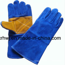 Reinforced Leather Welding Gloves