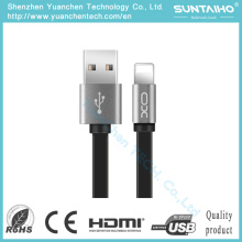 Cable de teléfono de carga del relámpago de la cuerda del nuevo USB de los datos para el iPhone