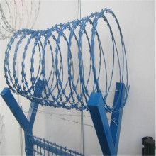 PVC Coated Razor Barbed Wire Mesh Fence