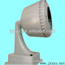cast metal security camera lamp