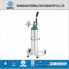 DOT High Pressure Medical Aluminum Oxygen Gas Cylinder