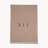 Factory direct DIY Inexpensive 12''*18''inch blank jute garden flag.