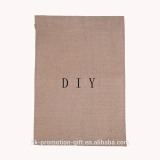 Factory direct DIY Inexpensive 12''*18''inch blank jute garden flag.