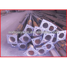 Rough steel shaft