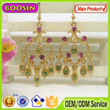 Unique Metal Alloy Dangling Traditional Indian Earring #21731