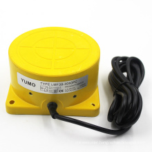 Yumo Lmf39 Plane Installation Detecting 50mm Inductive Proximity Switch Sensor