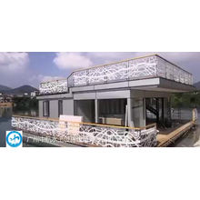 Aluminum alloy steel frame pontoon bridge customized marine passenger access gangway