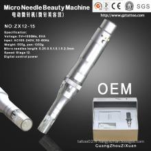 Dermapen d'aiguille automatique de peau de micro-aiguille électrique (ZX12-15)